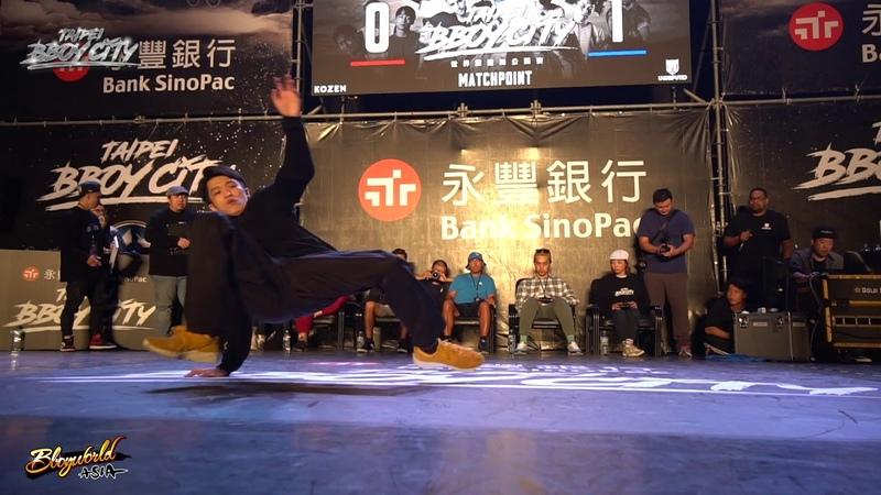 Sky vs Jamal | 8-4 | 1on1 | Taipei Bboy City x Undisputed