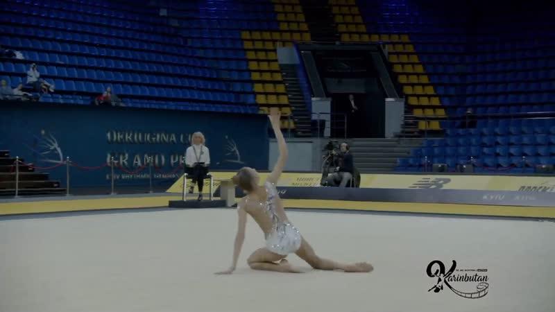 Анастасия Симакова - лента (командное многоборье) Deriugina Cup 2019