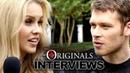 Joseph Morgan Claire Holt Tease The Originals' Season 1 Talk The Vampire Diaries Differences