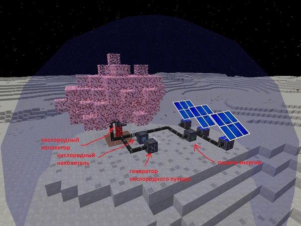 Как сделать воздушный шлюз в galacticraft
