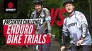GMBN Presenter Enduro Bike Trials Challenge | Blake Samson Vs. Chris Smith