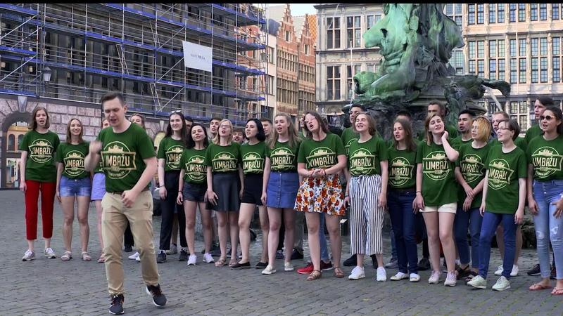 Флешмоб Хора МГИМО PROXENOS в Антверпене!