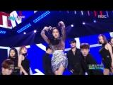 Hyomin - Mango @ Music Core 180922