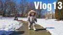 Vlog 13 Масленица !! В Нью Джерси выпал снег