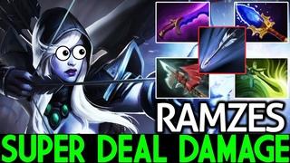 Ramzes [Drow Ranger] Super Deal Damage Hard Game 7.19 Dota 2