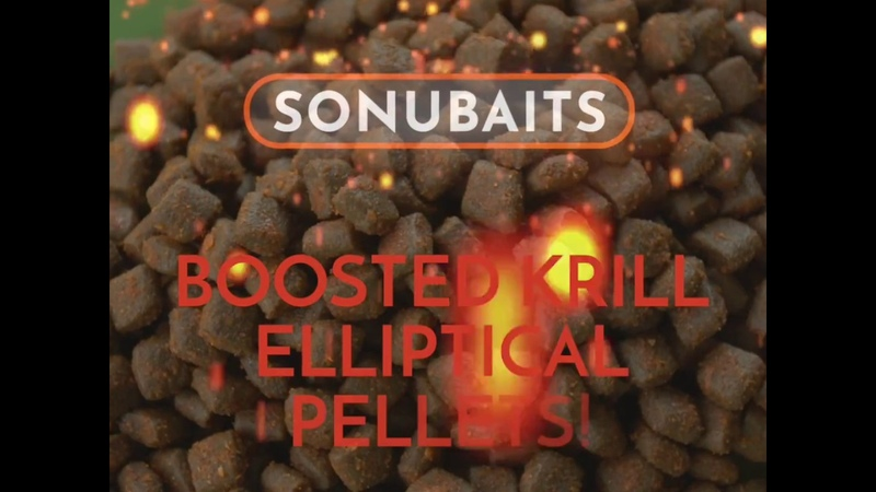 BAIT BITES! - BOOSTED KRILL ELLIPTICAL PELLETS!