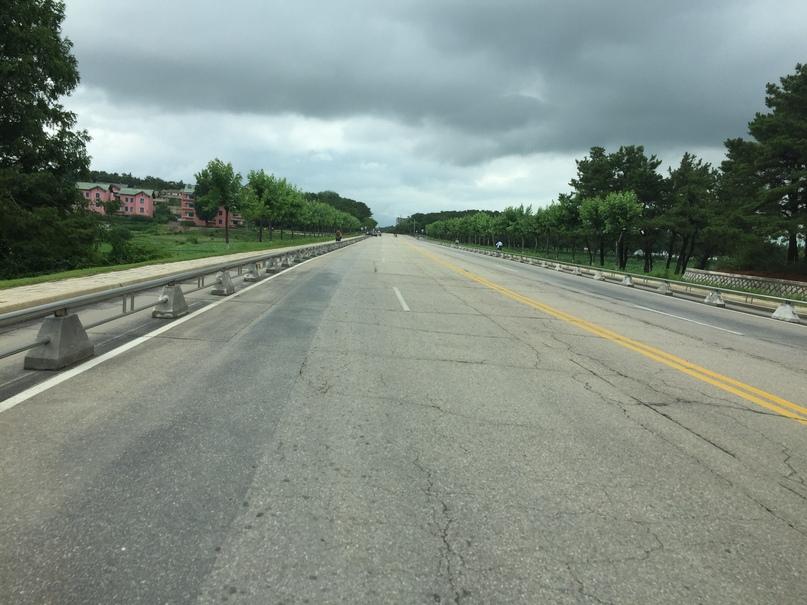 Отчет о путешествии в Северную Корею Ограждения из нержавейки