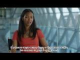 «Стартрек: Бесконечность»: интервью Зои Салдана на съемочной площадке (русс. суб. ). Отрывок #1