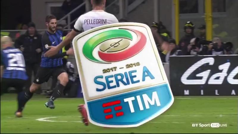 Inter Milan vs AS Roma 1-1 ● 21 Jan 2018 ● Serie A