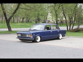 Polski Fiat 125p Air Ride -- FSO 125p Berlina Cultstyle