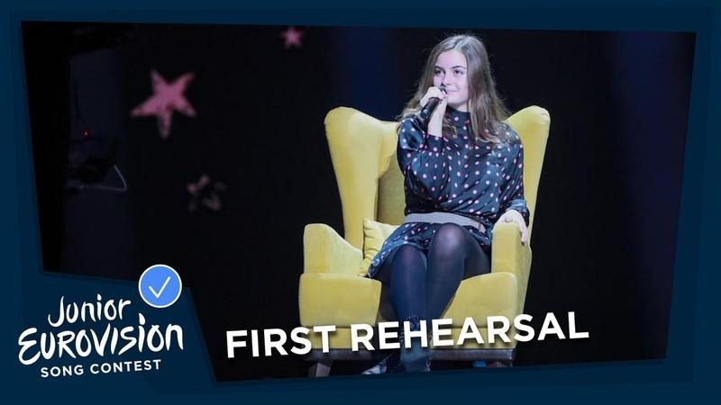 Rita Laranjeira - Gosto de Tudo (Já Não Gosto de Nada) - First Rehearsal- Portugal- JESC 2018