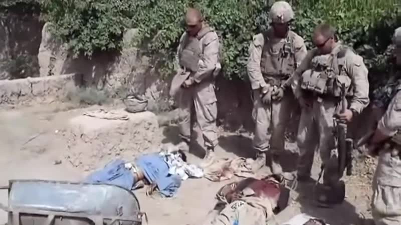 Marines urinate on the corpses of militants | Good Bles USMC