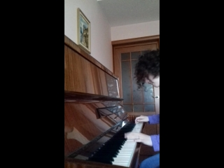Feeling Good (piano cover). Аполия.