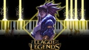 League of Legends POP STARS K DA ft Madison Beer G I DLE Jaira Burns Piano