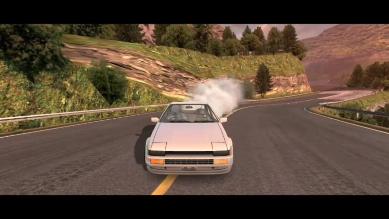 CarX Drift racing Touge Kami Road Hachiroku