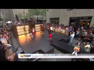 "Chris Brown  ""Interview"" + "" Love More"" On Today Show"