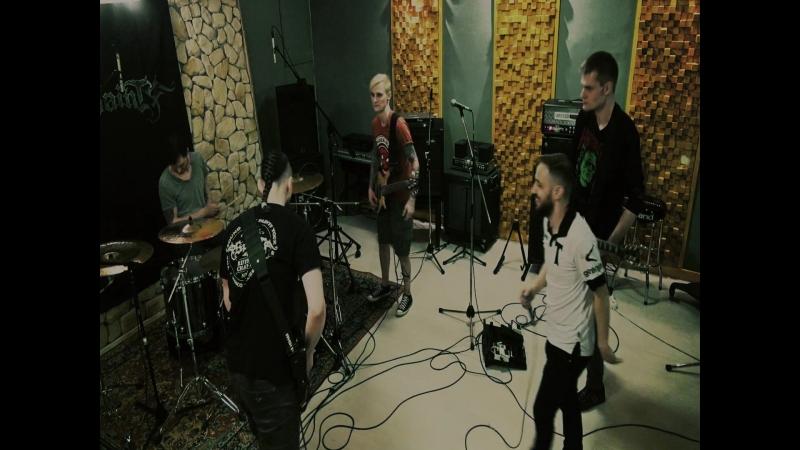 SPAINT - Запрет на табу (репетиция в период записи альбома Живые камни)