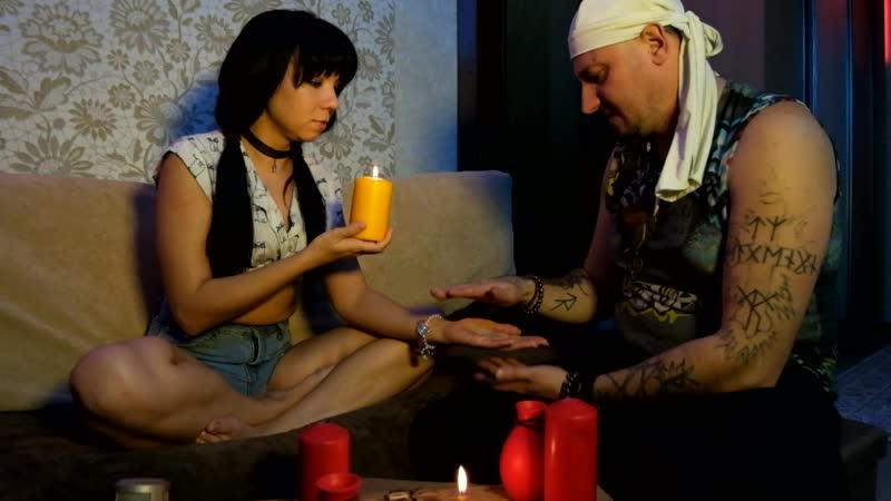 Первый урок магии с Иваном Шабановым: угадываю цвет свечей