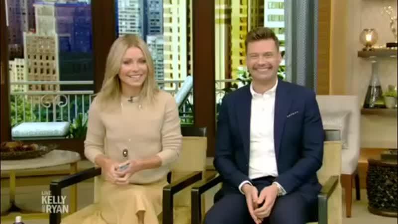 Мишель Уильямс на ток-шоу В прямом эфире с Риджесом и Кэти Ли, 4 октября 2018