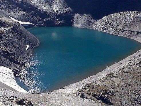 Самoе ромaнтическое озеро.