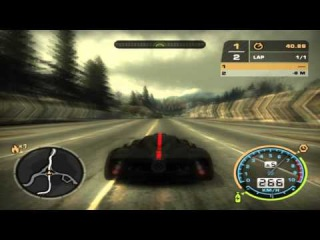 Nfs Most Wanted - Pagani Zonda Cinque 2009 vs Ford GT [HD].