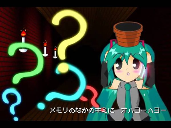 Hatsune Miku PV *Hallo Planet Animation ver