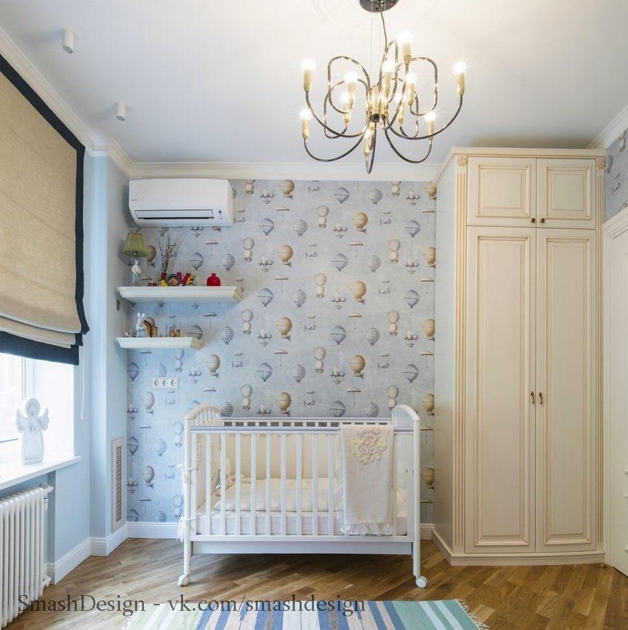 Квартира с элементами классического интерьера