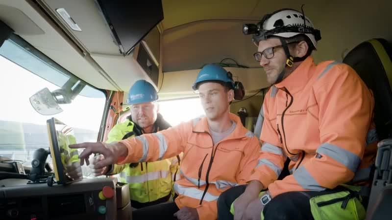 Первые автономные грузовики Volvo FH начали работать в норвежской горнодобывающей компании Bronnoy Kalk AS