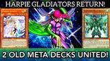 Duel Links HARPIE GLADIATORS RETURN! A Strong Hybrid Deck