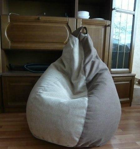 Кресло-мешок своими руками. #DIY_Идеи