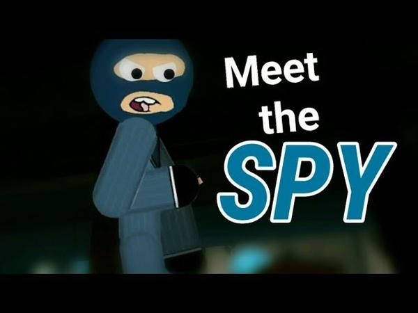 Meet the spy 2D animation Remake Рисуем мультфильмы 2