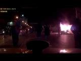В ДТП с пожаром в Екатеринбурге погибла девушка