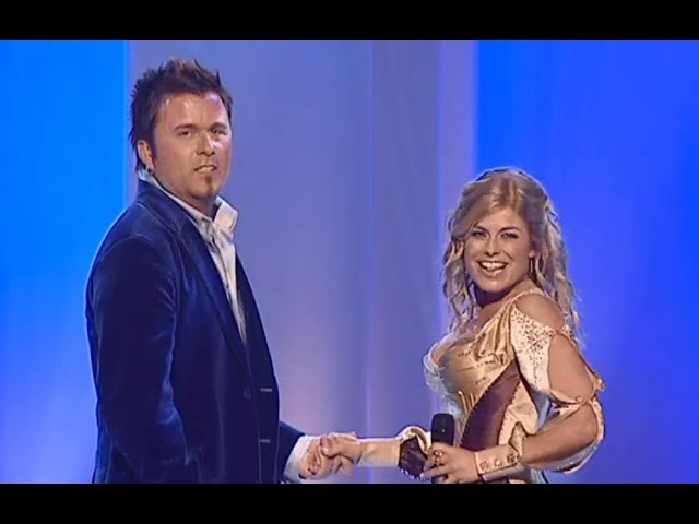 Melodifestivalen 2003 - Deltävling 1 - Let Your Spirit Fly - Pernilla Wahlgren Jan Johansen