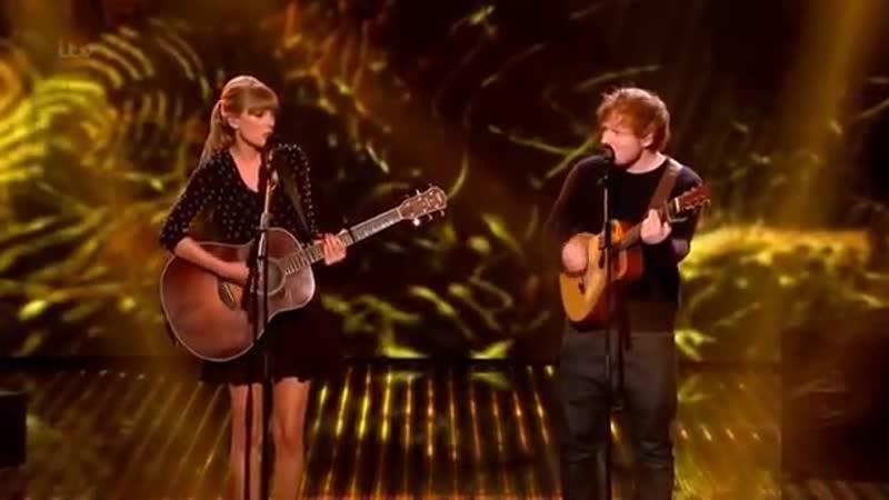 Taylor Swift Ed Sheeran - Everything Has Changed live on BGT (HD)