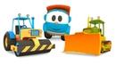 Leo il camion curioso e le macchine che costruiscono le strade
