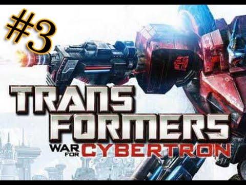 Let's play Трансформеры Битва за Кибертрон 3 серия