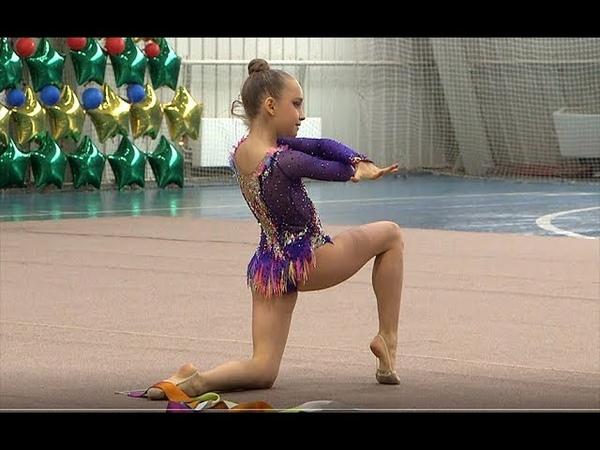Чечетко Богдана лента Художественная гимнастика