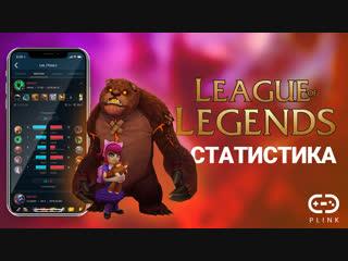 Статистика по League of Legends