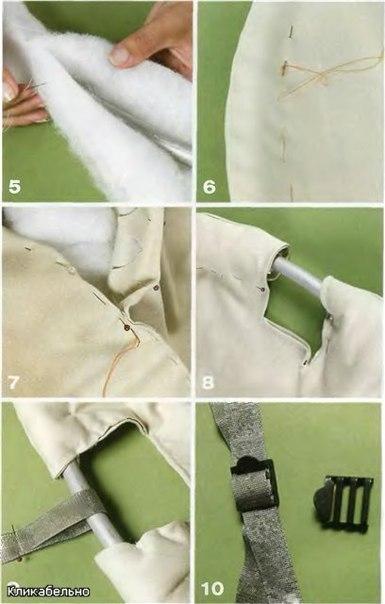 Как сделать кресло гамак своими руками.