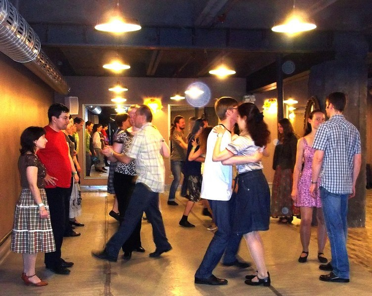 Our Dance event at Youth Exchange in St. Peterburg, Russia.