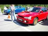 Subaru Gc8 VS Mitsubishi Lancer X