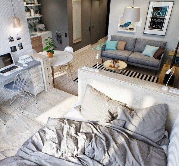 10 практичных cоветов для владельцев маленьких квартир