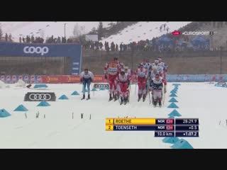 2018.12.02. Cross-Country WC. Lillehammer. Men. 15 km Pursuit C