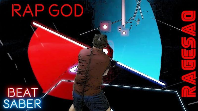 Eminem - Rap God - Im beginning to feel like a Sith Lord - (Custom Song) Beat Saber Darth Maul
