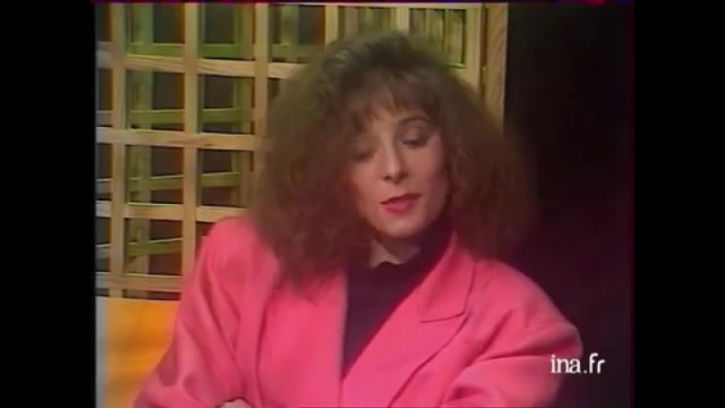 Mylene Farmer - Maman A Tort , On Est Tous Des Imbeciles - TV - Rocking Chair - FR3 Normandie - 02.03.1985