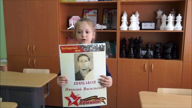 Видеокнига Военный путь прадеда Шибаковы Даниил и Дарья