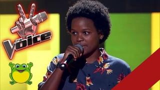 Priscila Tossan - canta O Sapo não lava o pé - The Voice Brasil