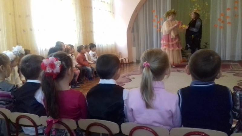 утренник Барвинок осень 2015г