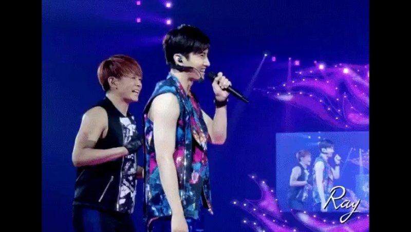 You know what warms my heart, Changmin Yunhos love for each other.