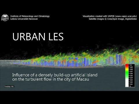 Urban Large-Eddy Simulation